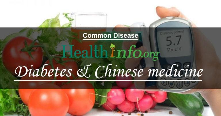 Diabetes & Chinese medicine