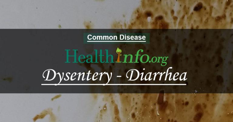 Dysentery - Diarrhea