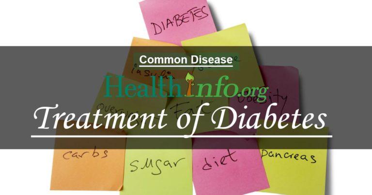 treatment of diabetes