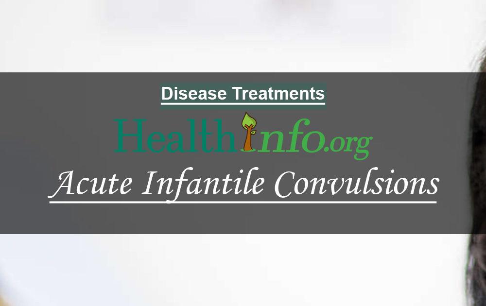 Acute Infantile Convulsions