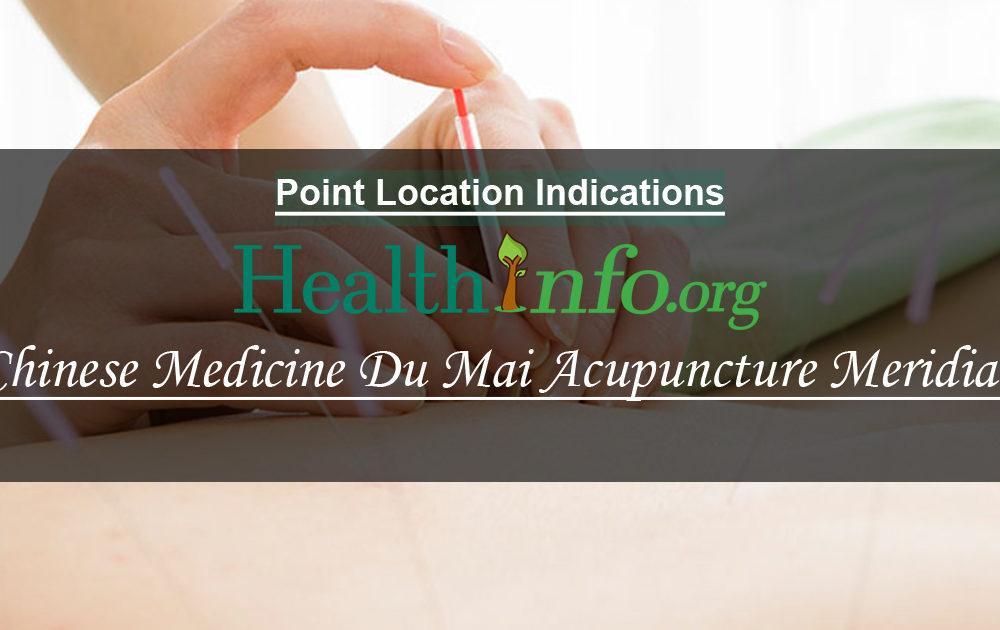 Chinese Medicine Du Mai Acupuncture Meridian