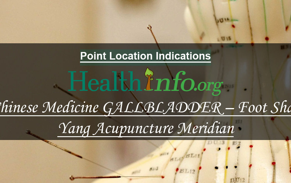 Chinese Medicine GALLBLADDER – Foot Shao Yang Acupuncture Meridian