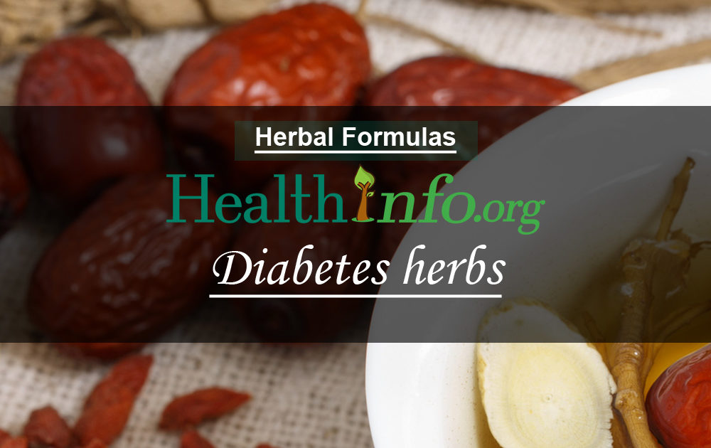 Diabetes herbs & supplements