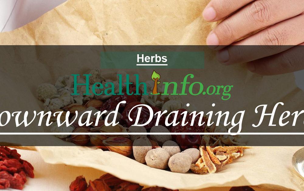 Downward Draining Herbs