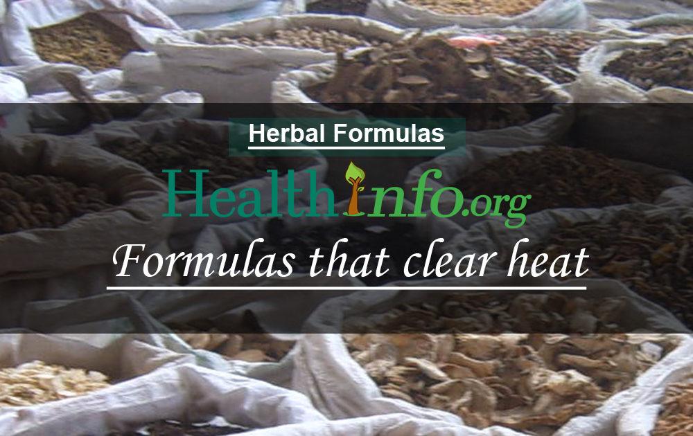 Formulas that clear heat