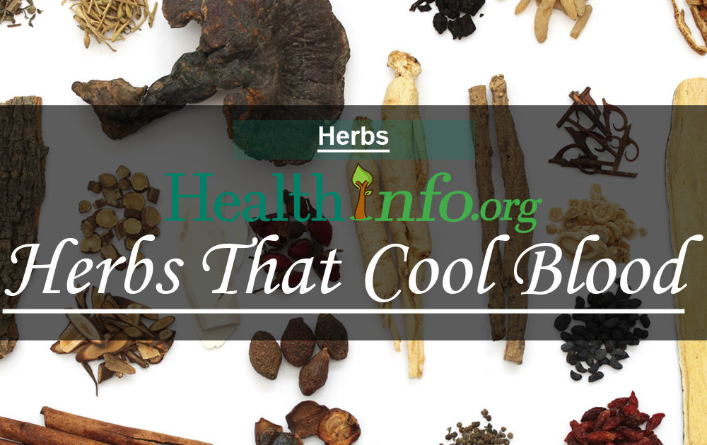 Herbs That Cool Blood