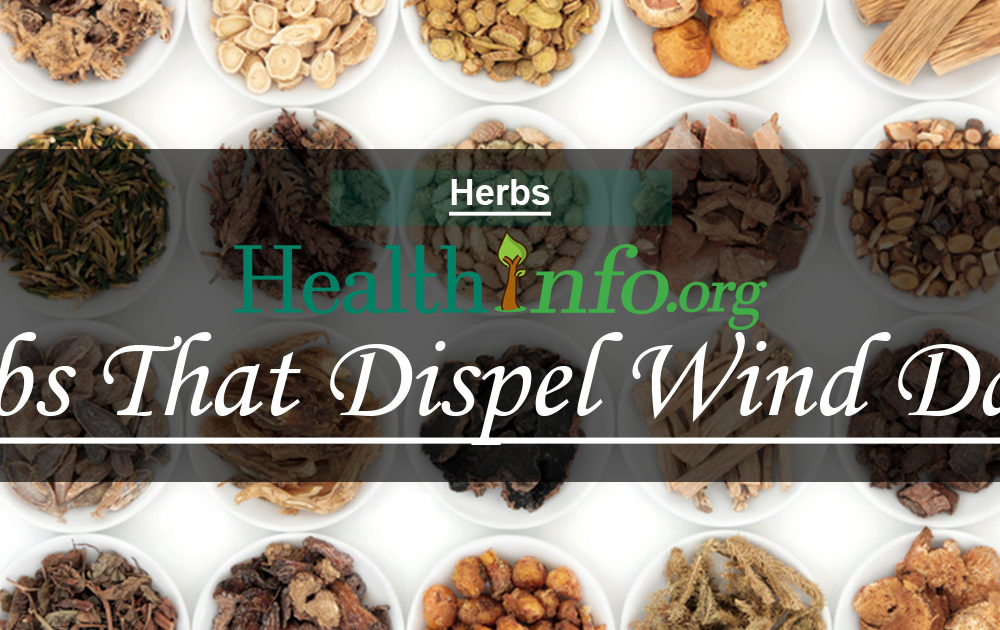 Herbs That Dispel Wind Damp