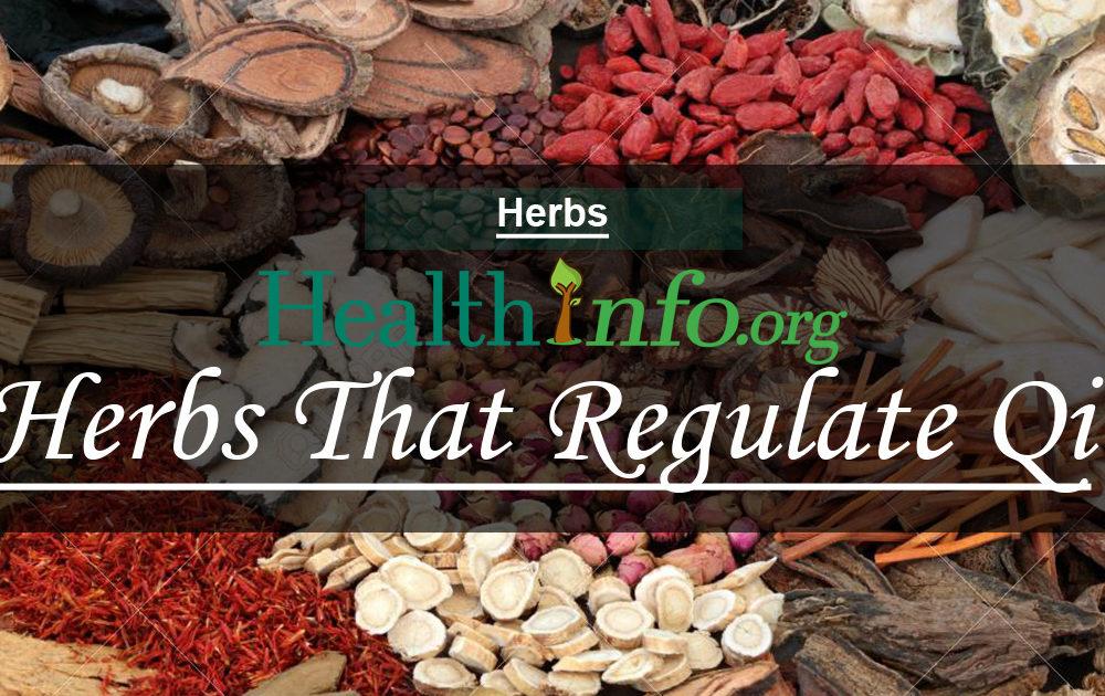 Herbs That Regulate Qi