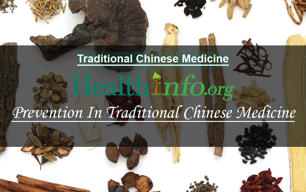 Prevention In Traditional Chinese Medicine