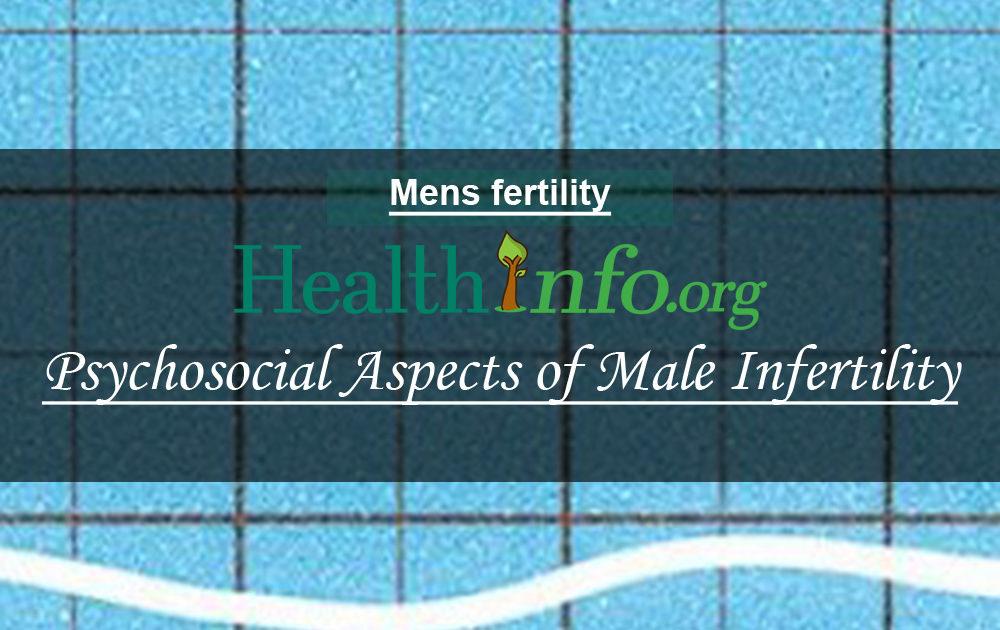 Psychosocial Aspects of Male Infertility