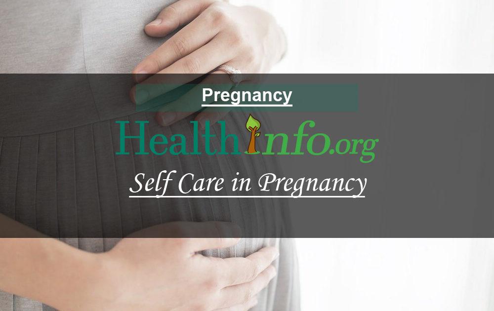 Self Care in Pregnancy