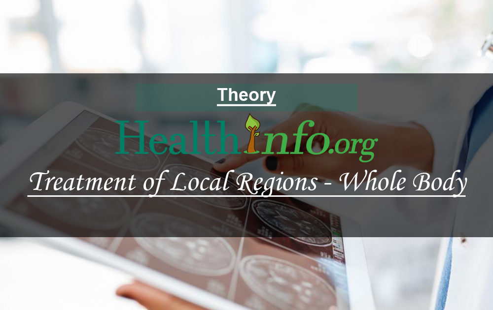 Treatment of Local Regions & Whole Body