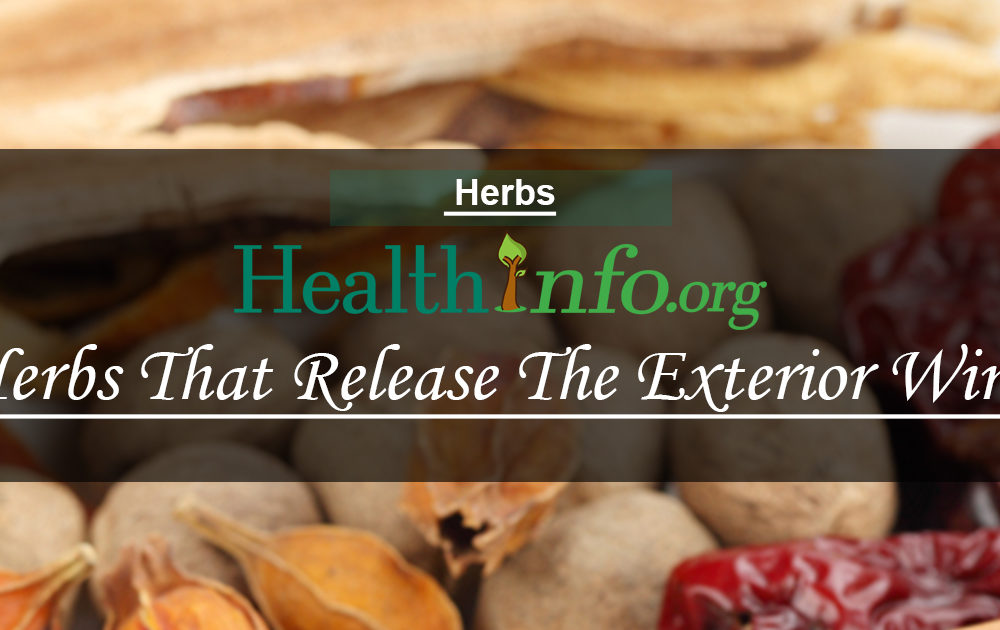 Herbs That Release The Exterior Wind Cold