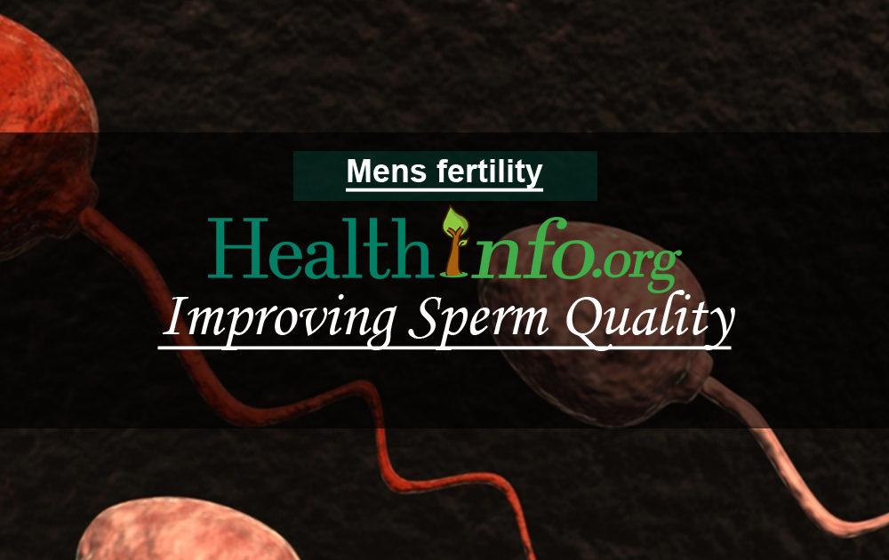 Improving Sperm Quality