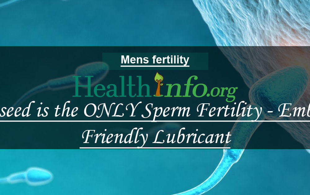 Preseed is the ONLY Sperm Fertility & Embryo Friendly Lubricant